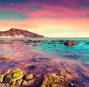 Πίνακας ζωγραφικής Rocky sea