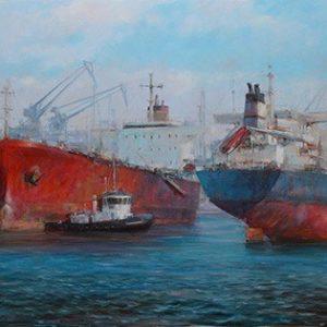 Πίνακας ζωγραφικής Tankers