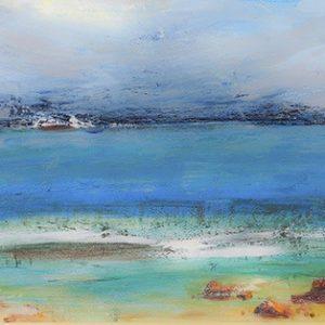 Πίνακας ζωγραφικής Abstract sea
