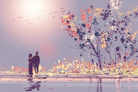 Πίνακας ζωγραφικής Couple