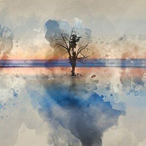 Πίνακας ζωγραφικής Abstract tree