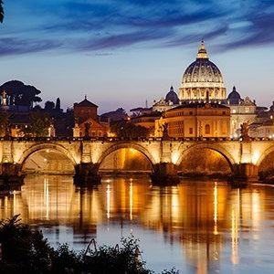 Vatican viewed from Rome