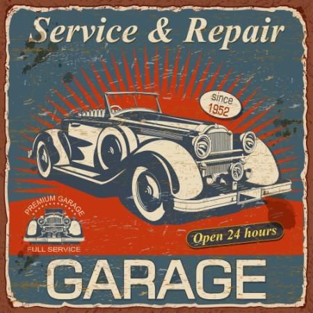 Πίνακας ζωγραφικής Garage