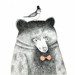 Πίνακας ζωγραφικής Bear
