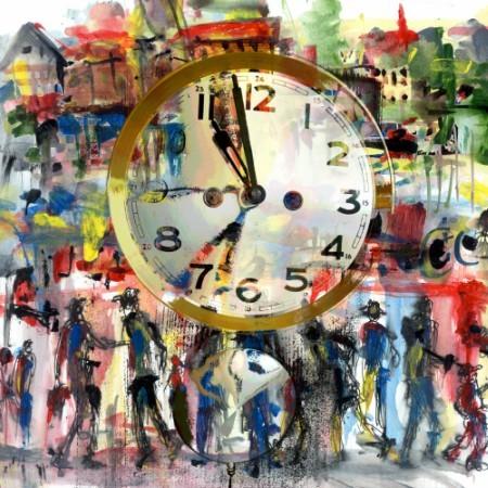 Πίνακας ζωγραφικής Clock