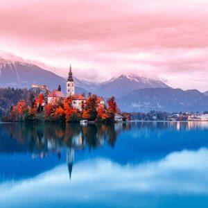 Πίνακας ζωγραφικής Bled Lake