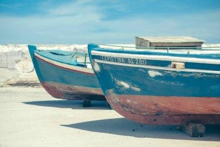 Πίνακας ζωγραφικής Fishboats