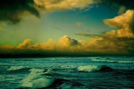 Πίνακας ζωγραφικής Dark sea