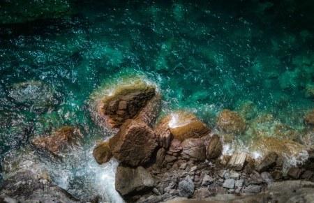 Πίνακας ζωγραφικής Green sea