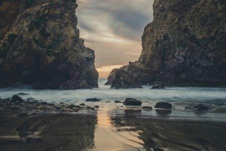 Πίνακας ζωγραφικής Rocky beach II