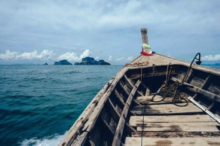 Πίνακας ζωγραφικής Into the boat II