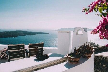 Πίνακας ζωγραφικής Santorini view