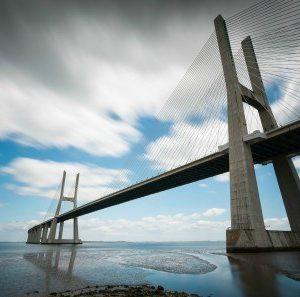 Πίνακας ζωγραφικής Concrete bridge