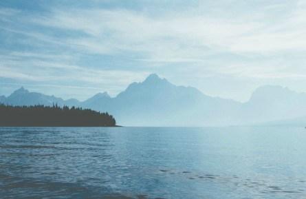 Πίνακας ζωγραφικής Mountain peaks