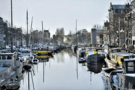 Πίνακας ζωγραφικής Grey city
