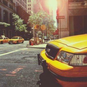 Πίνακας ζωγραφικής Yellow taxi