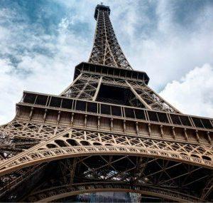 Πίνακας ζωγραφικής Eiffel tower II