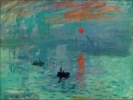 Claude Monet Levar del sole