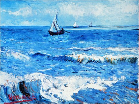 Πίνακας ζωγραφικής Vincent van Gogh - Paesaggio Marino