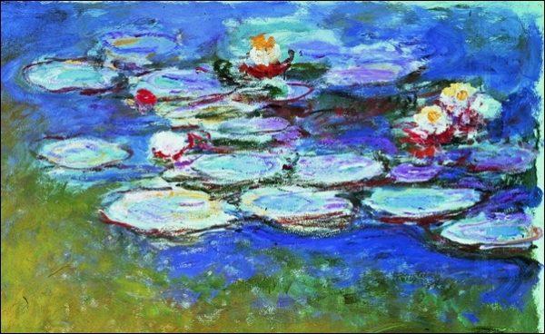Πίνακας ζωγραφικής Claude Monet - Gli Agapanti