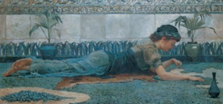 Πίνακας ζωγραφικής Hale - Blue Mosaic