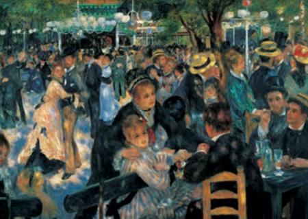 Πίνακας ζωγραφικής Pierre Auguste Renoir - il ballo del mulin de la Galette