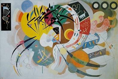 Wassily Kandinsky Curva Dominante