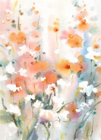 Πίνακας ζωγραφικής Flowers I