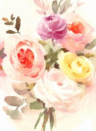 Πίνακας ζωγραφικής Flowers II