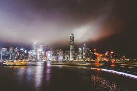 City lights III