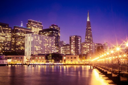 City lights IV